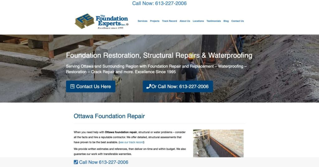 The Foundation Experts' Homepage